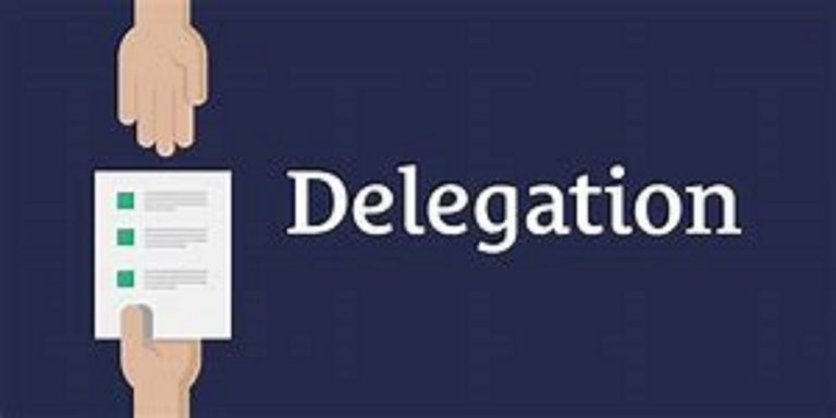 Learning to Delegate