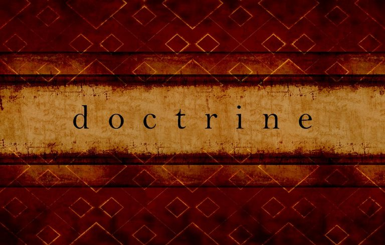 Doctrine Is Important for Church Growth